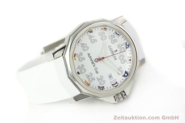 Used luxury watch Corum Admirals Cup steel automatic Kal. ETA 2892A2 Ref. 01.0010  | 141888 03
