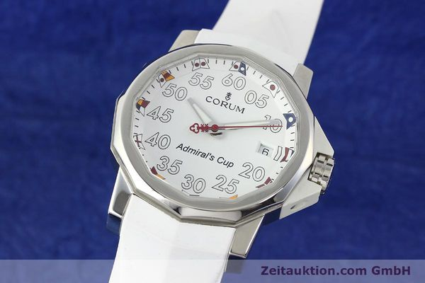 Used luxury watch Corum Admirals Cup steel automatic Kal. ETA 2892A2 Ref. 01.0010  | 141888 04
