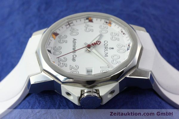 Used luxury watch Corum Admirals Cup steel automatic Kal. ETA 2892A2 Ref. 01.0010  | 141888 05