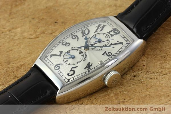 Used luxury watch Franck Muller Master Banker steel automatic Kal. 2000 Ref. 5850MB  | 141890 01
