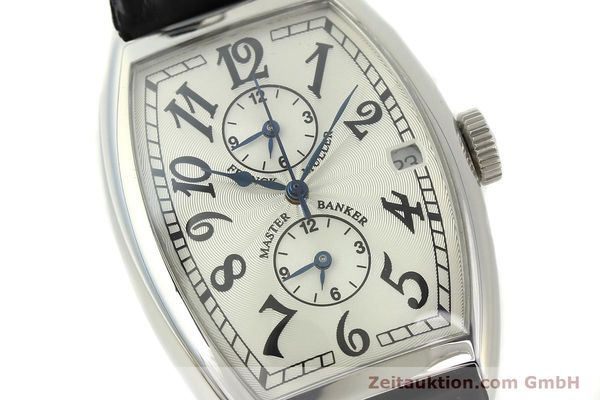 Used luxury watch Franck Muller Master Banker steel automatic Kal. 2000 Ref. 5850MB  | 141890 02
