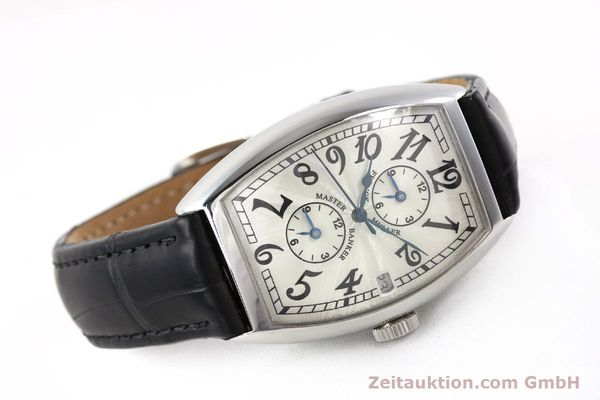 Used luxury watch Franck Muller Master Banker steel automatic Kal. 2000 Ref. 5850MB  | 141890 03