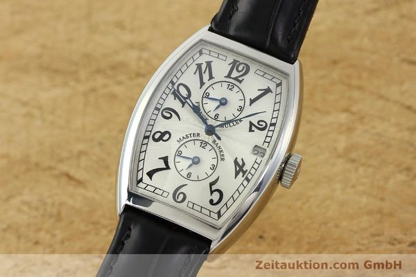 Used luxury watch Franck Muller Master Banker steel automatic Kal. 2000 Ref. 5850MB  | 141890 04