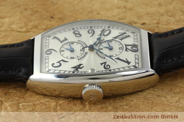 Used luxury watch Franck Muller Master Banker steel automatic Kal. 2000 Ref. 5850MB  | 141890 05