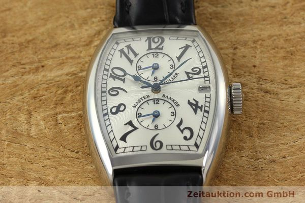 Used luxury watch Franck Muller Master Banker steel automatic Kal. 2000 Ref. 5850MB  | 141890 16