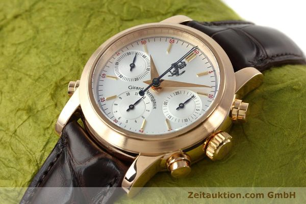 Used luxury watch Girard Perregaux Ferrari chronograph 18 ct red gold automatic Kal. 8290 Ref. 1509  | 141892 01