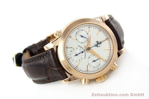 Used luxury watch Girard Perregaux Ferrari chronograph 18 ct red gold automatic Kal. 8290 Ref. 1509  | 141892 03