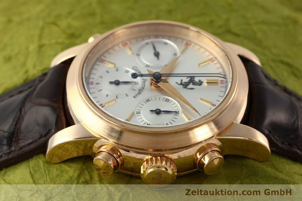 Used luxury watch Girard Perregaux Ferrari chronograph 18 ct red gold automatic Kal. 8290 Ref. 1509  | 141892 05