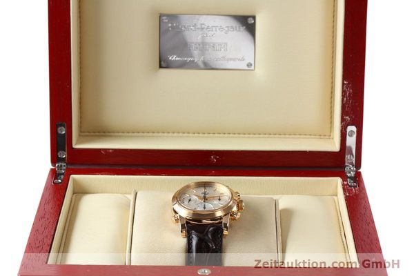 Used luxury watch Girard Perregaux Ferrari chronograph 18 ct red gold automatic Kal. 8290 Ref. 1509  | 141892 07