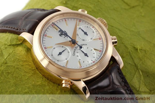 Used luxury watch Girard Perregaux Ferrari chronograph 18 ct red gold automatic Kal. 8290 Ref. 1509  | 141892 18