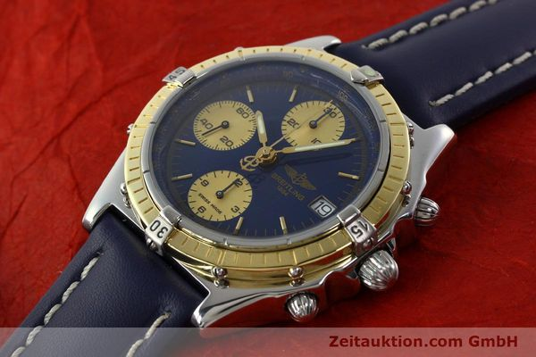 Used luxury watch Breitling Chronomat chronograph steel / gold automatic Kal. ETA 7750  | 141894 01