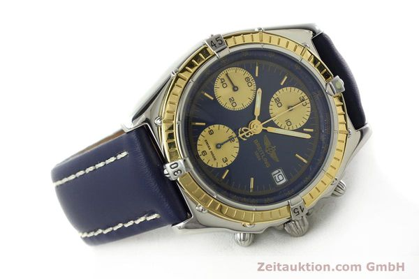 Used luxury watch Breitling Chronomat chronograph steel / gold automatic Kal. ETA 7750  | 141894 03