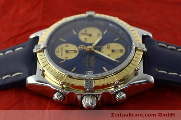 Used luxury watch Breitling Chronomat chronograph steel / gold automatic Kal. ETA 7750  | 141894 05
