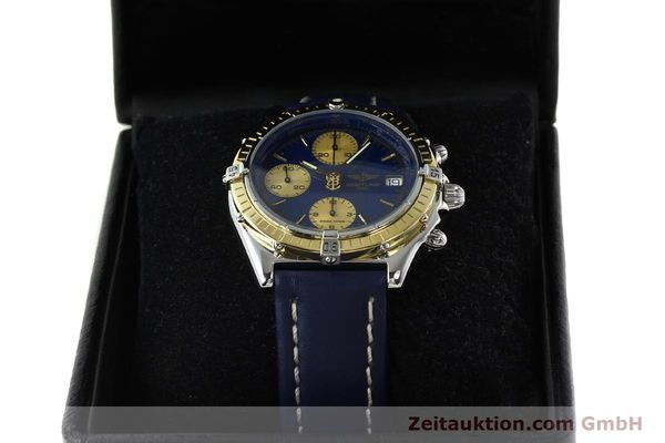 Used luxury watch Breitling Chronomat chronograph steel / gold automatic Kal. ETA 7750  | 141894 07