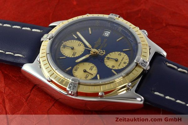 Used luxury watch Breitling Chronomat chronograph steel / gold automatic Kal. ETA 7750  | 141894 14