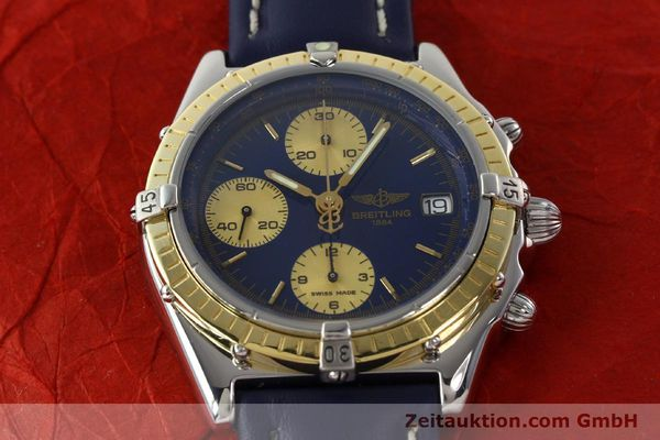 Used luxury watch Breitling Chronomat chronograph steel / gold automatic Kal. ETA 7750  | 141894 15
