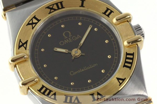 Used luxury watch Omega Constellation steel / gold quartz Kal. 1455 ETA 976001  | 141895 02