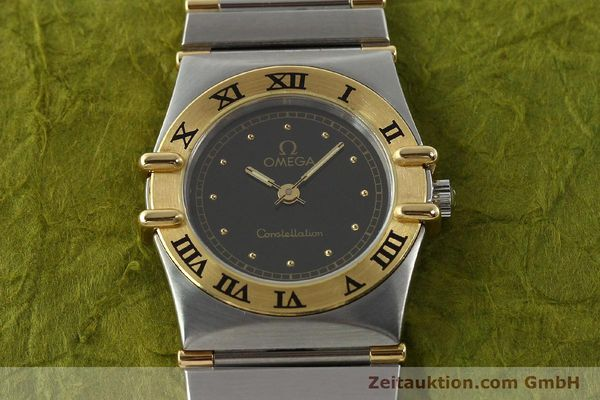 Used luxury watch Omega Constellation steel / gold quartz Kal. 1455 ETA 976001  | 141895 14