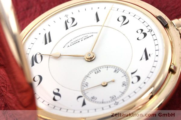 Used luxury watch A. Lange & Söhne DUF 14 ct red gold manual winding  | 141896 02