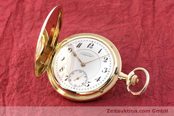 Used luxury watch A. Lange & Söhne DUF 14 ct red gold manual winding  | 141896 04