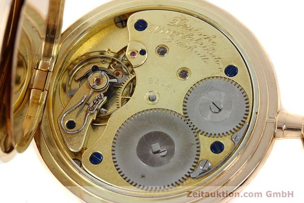 Used luxury watch A. Lange & Söhne DUF 14 ct red gold manual winding  | 141896 10