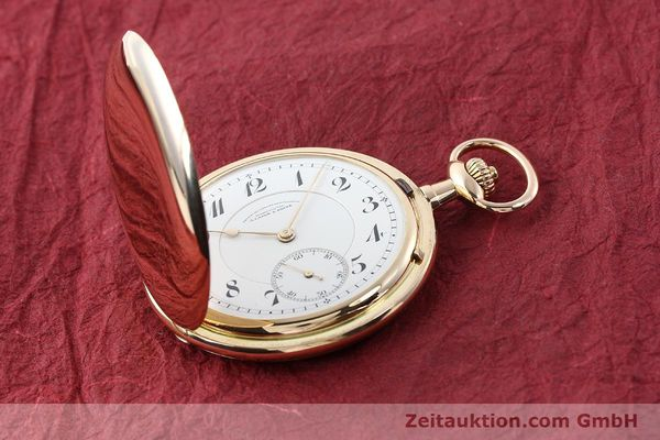 Used luxury watch A. Lange & Söhne DUF 14 ct red gold manual winding  | 141896 15