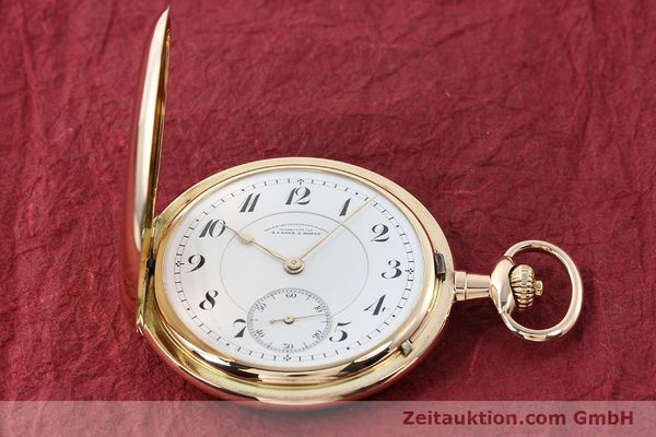Used luxury watch A. Lange & Söhne DUF 14 ct red gold manual winding  | 141896 16