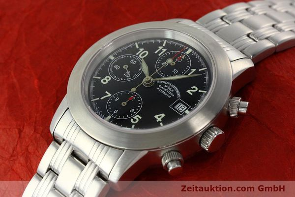 Used luxury watch Mühle Sport Chronograph chronograph steel automatic Kal. ETA 7750 Ref. M12300  | 141897 01