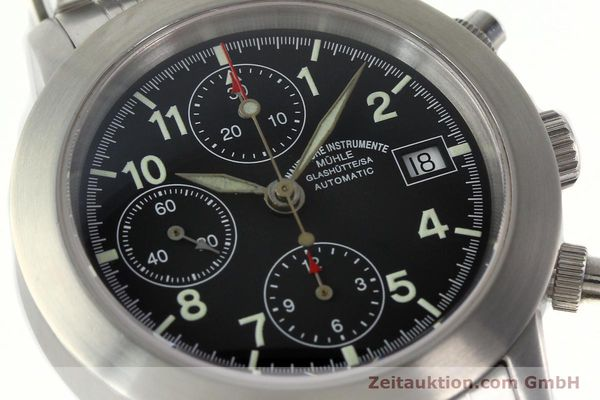 Used luxury watch Mühle Sport Chronograph chronograph steel automatic Kal. ETA 7750 Ref. M12300  | 141897 02