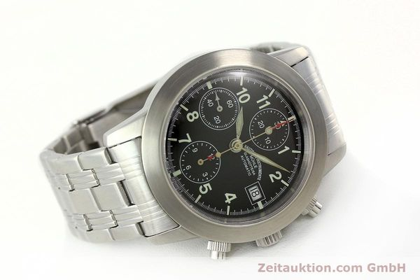 Used luxury watch Mühle Sport Chronograph chronograph steel automatic Kal. ETA 7750 Ref. M12300  | 141897 03