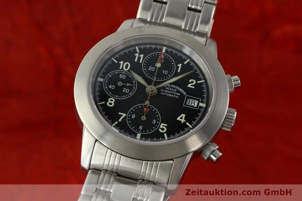 Used luxury watch Mühle Sport Chronograph chronograph steel automatic Kal. ETA 7750 Ref. M12300  | 141897 04
