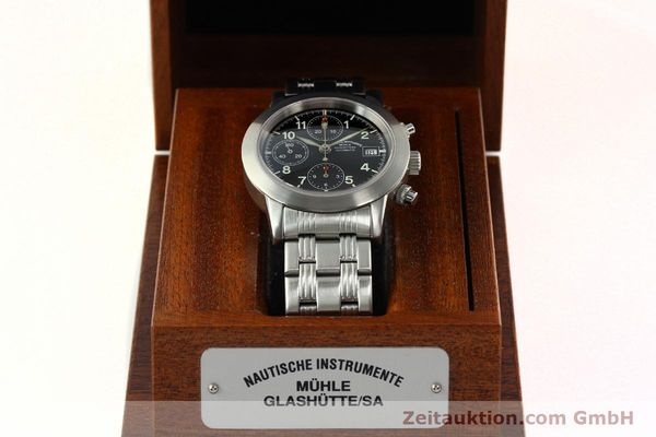 Used luxury watch Mühle Sport Chronograph chronograph steel automatic Kal. ETA 7750 Ref. M12300  | 141897 07
