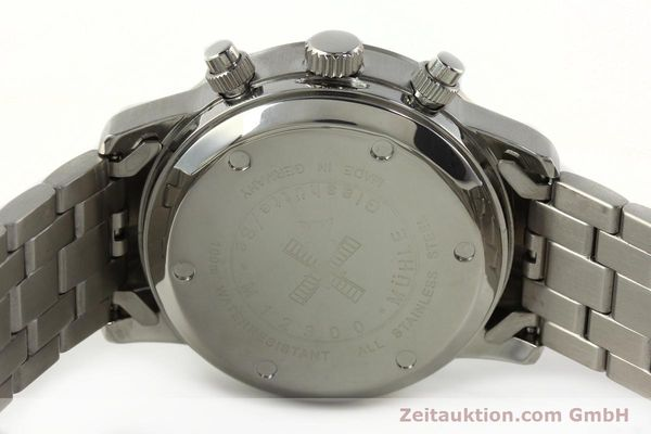 Used luxury watch Mühle Sport Chronograph chronograph steel automatic Kal. ETA 7750 Ref. M12300  | 141897 09