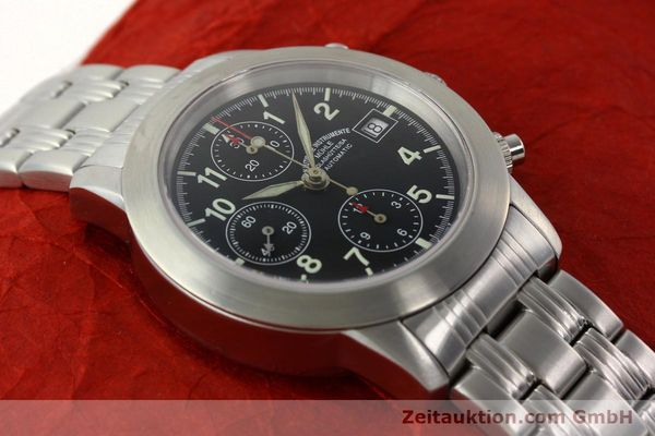 Used luxury watch Mühle Sport Chronograph chronograph steel automatic Kal. ETA 7750 Ref. M12300  | 141897 15