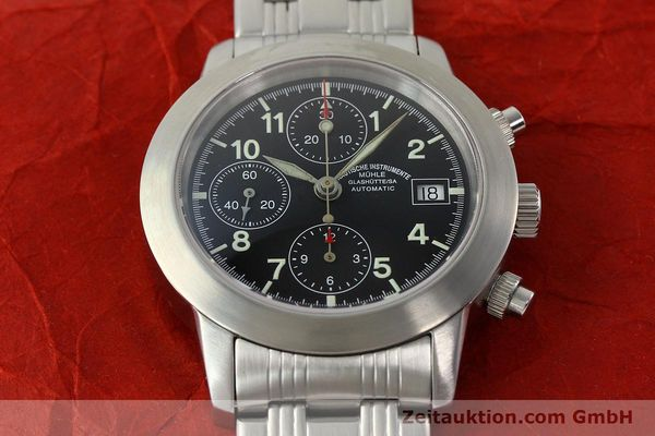 Used luxury watch Mühle Sport Chronograph chronograph steel automatic Kal. ETA 7750 Ref. M12300  | 141897 16