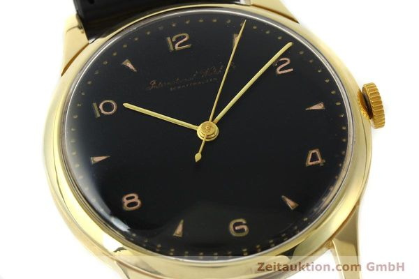 Used luxury watch IWC * 18 ct gold manual winding Kal. C.89  | 141899 02