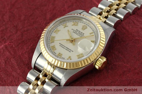 Used luxury watch Rolex Lady Datejust steel / gold automatic Kal. 2135 Ref. 69173  | 141900 01
