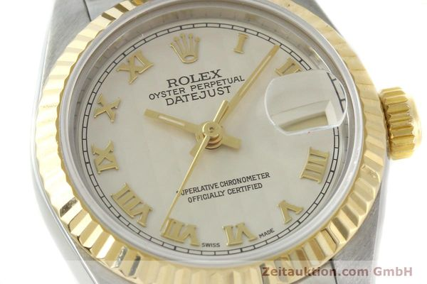 Used luxury watch Rolex Lady Datejust steel / gold automatic Kal. 2135 Ref. 69173  | 141900 02