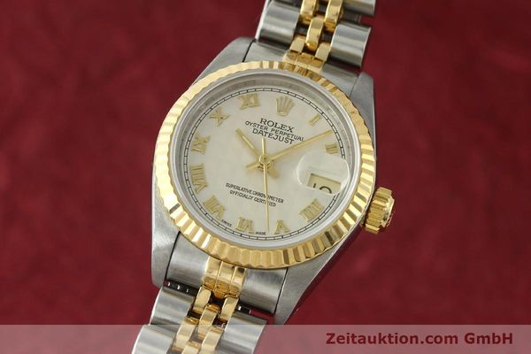 Used luxury watch Rolex Lady Datejust steel / gold automatic Kal. 2135 Ref. 69173  | 141900 04