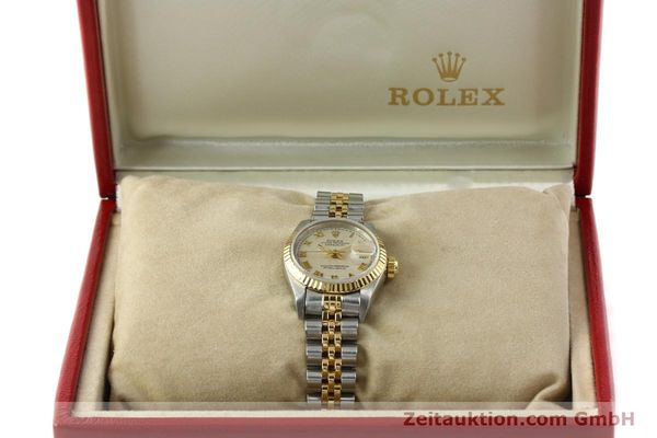 Used luxury watch Rolex Lady Datejust steel / gold automatic Kal. 2135 Ref. 69173  | 141900 07