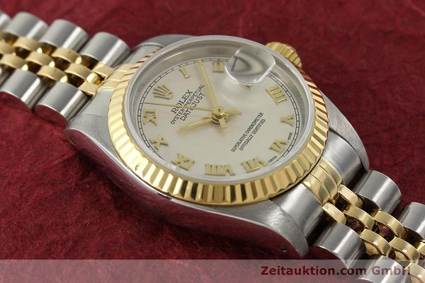 Used luxury watch Rolex Lady Datejust steel / gold automatic Kal. 2135 Ref. 69173  | 141900 15