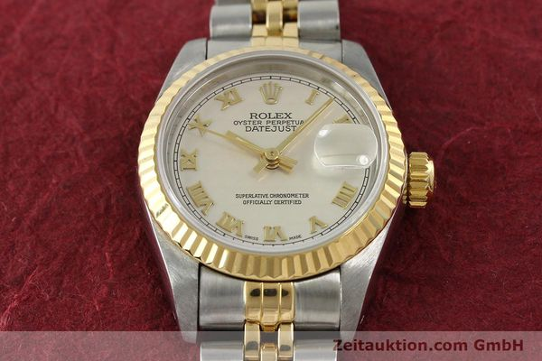 Used luxury watch Rolex Lady Datejust steel / gold automatic Kal. 2135 Ref. 69173  | 141900 16