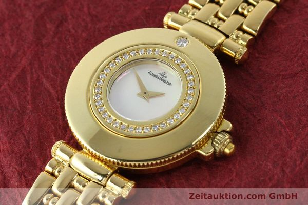Used luxury watch Jaeger Le Coultre Rendesvous 18 ct gold quartz Kal. 601 Ref. 441.1.01  | 141901 01