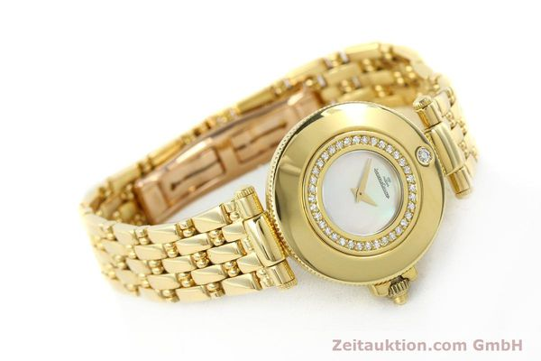 Used luxury watch Jaeger Le Coultre Rendesvous 18 ct gold quartz Kal. 601 Ref. 441.1.01  | 141901 03
