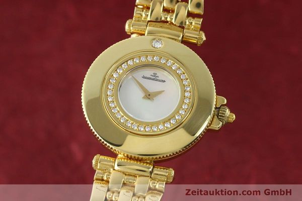 Used luxury watch Jaeger Le Coultre Rendesvous 18 ct gold quartz Kal. 601 Ref. 441.1.01  | 141901 04