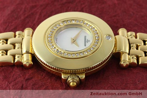 Used luxury watch Jaeger Le Coultre Rendesvous 18 ct gold quartz Kal. 601 Ref. 441.1.01  | 141901 05