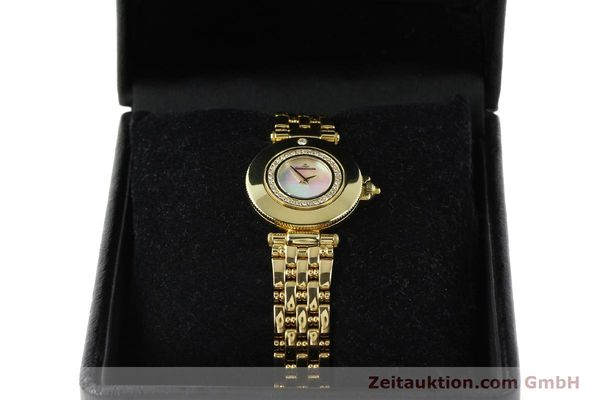 Used luxury watch Jaeger Le Coultre Rendesvous 18 ct gold quartz Kal. 601 Ref. 441.1.01  | 141901 07