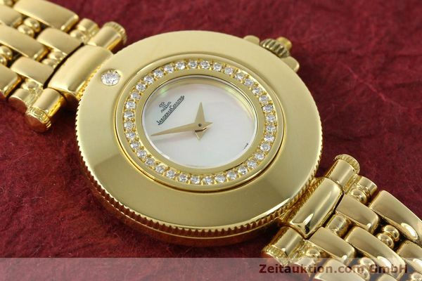 Used luxury watch Jaeger Le Coultre Rendesvous 18 ct gold quartz Kal. 601 Ref. 441.1.01  | 141901 12