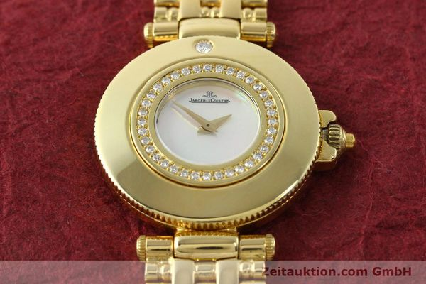 Used luxury watch Jaeger Le Coultre Rendesvous 18 ct gold quartz Kal. 601 Ref. 441.1.01  | 141901 13