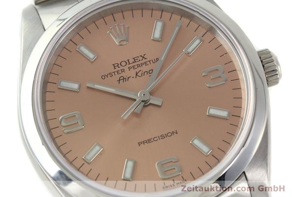 montre de luxe d occasion Rolex Air King acier automatique Kal. 3130 Ref. 14000M  | 141903 02